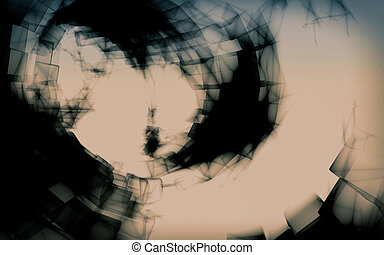 Abstract x-ray background