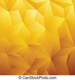 Abstract Yellow Background - Abstract Yellow Triangle ...
