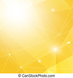 Abstract Yellow Background - Abstract Yellow Triangle...