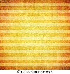 Abstract yellow background or paper with grunge texture and white stripes