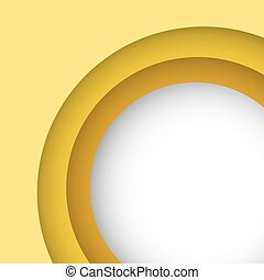Abstract yellow background with copy space