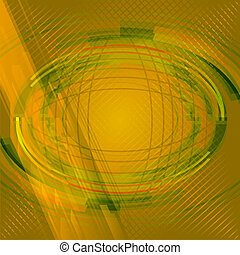 Abstract yellow background with