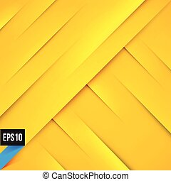 Abstract yellow background with lights and shadows