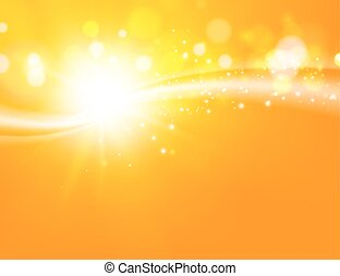 Abstract yellow background. - Yellow orange background. Gold...