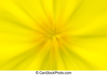 Abstract yellow blurred background