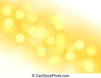 Abstract yellow circles