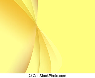 Abstract yellow light background