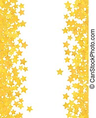 Abstract yellow star background. Vector illustration
