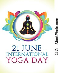 abstract yoga day background.eps