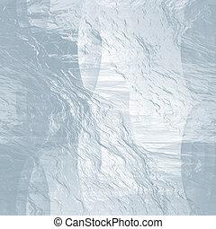 (abstract, zima, seamless, lód, struktura, background)