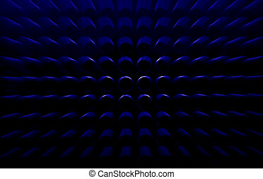 Abstract zoom out background
