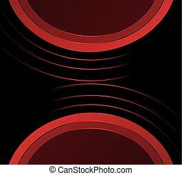 abstract, zwart rood, achtergrond