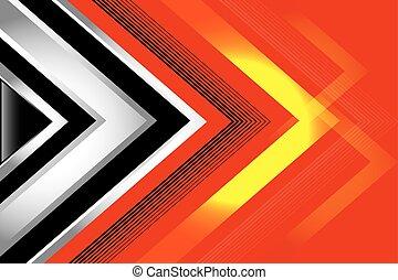 abstract, zwarte achtergrond, rood