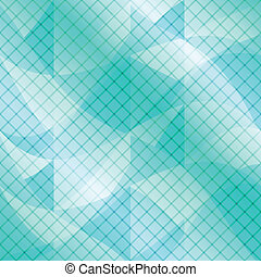 Abstract blue background with checked pattern