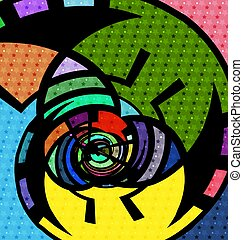 abstraction and color - abstract colored background image...