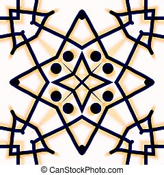 Abstraction decorative ornament
