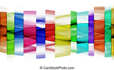 Abstraction of coloured segments