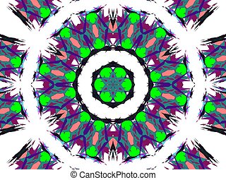 Abstraction ornament