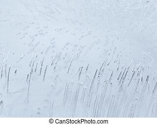 beautiful ice surface