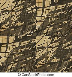 Abstractive brownish wallpaper.