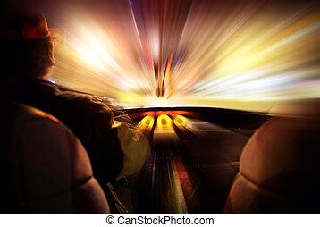 abstrakcyjne pojęcie, szybkość