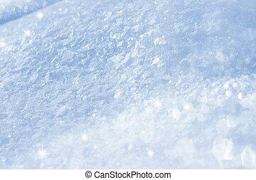 abstrakcyjny, śnieg, tło
