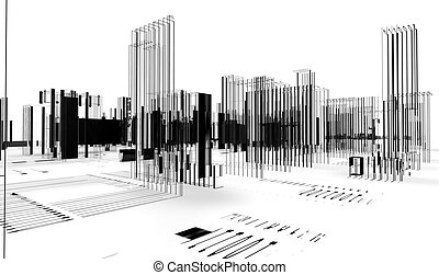 abstrakcyjny, architektura