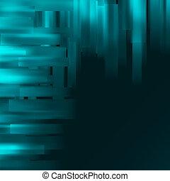 abstrakcyjny, błękitny, tło., eps, 8