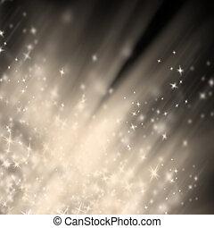 abstrakcyjny, błyszczący, boże narodzenie, tło, plama