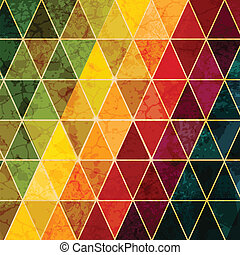 abstrakcyjny, barwny, geometryczny, tło