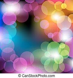 abstrakcyjny, barwny, wektor, tło