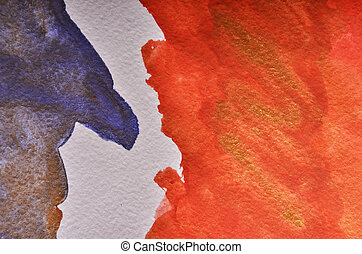 abstrakcyjny, barwny
