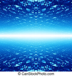 abstrakcyjny, cyberspace, tło