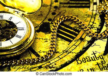 abstrakcyjny, czas