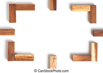 abstrakcyjny, drewno budowa