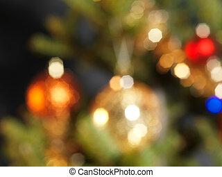 abstrakcyjny, drzewo, boże narodzenie, tło
