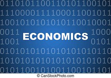 abstrakcyjny, ekonomika, tło