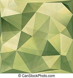 abstrakcyjny, eps10., kamuflaż, polygonal, tło., wektor, wojskowy