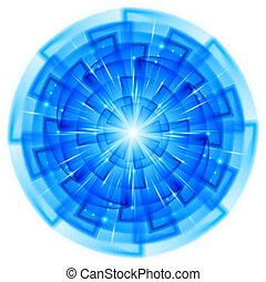abstrakcyjny, gwiazda