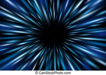 abstrakcyjny, ilustracja, ruch, wektor, tło, szybkość