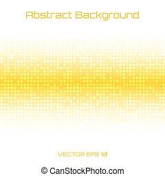 abstrakcyjny, jasne światło, miód, żółty