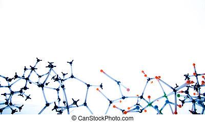 abstrakcyjny, molekularna budowa