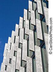abstrakcyjny, nowoczesna architektura