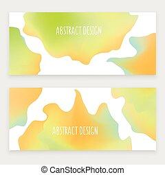 abstrakcyjny, okrągły, projektować, w, barwny, nowoczesny, styl