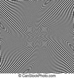abstrakcyjny, op, sztuka, design.