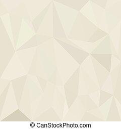 abstrakcyjny, papier, tło, biały, geometryczny, triangle