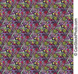 abstrakcyjny, pattern., seamless, wektor, projektować, szablon