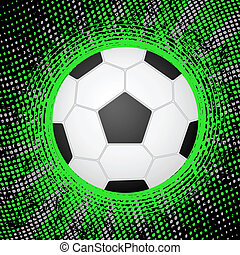 abstrakcyjny, piłka nożna, tło