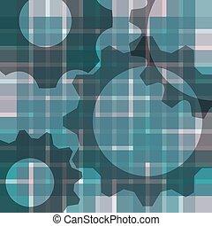 abstrakcyjny, plama, background-with, mechanizmy