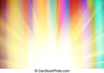 abstrakcyjny, słoneczny, tło